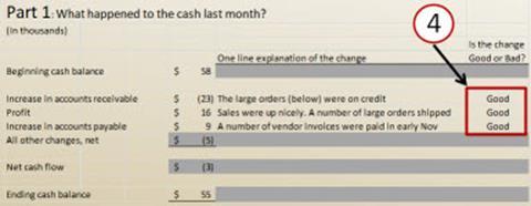 example cash flow report