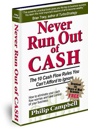 Never Run Out of Cash Book
